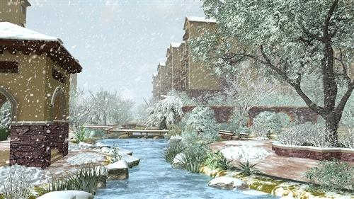 天润城规划图冬