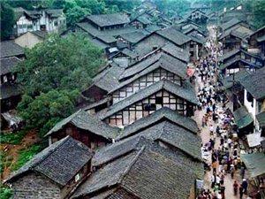 武胜沿口古镇文化旅游区