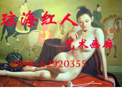 琼海红人艺术画廊