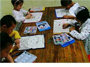 湖城少儿画苑暑期班开课了